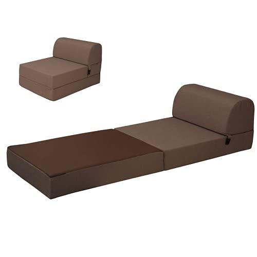 Bobby's Bedware Colchón plegable 2 en 1 Modjo, práctico como colchón de viaje, colchón plegable, colchón de...