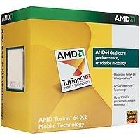 AMD Turion 64 X2 Mobile Technology, 1.6GHz, WOF - Procesador (1.6GHz, WOF, AMD Turion, 1,6 GHz, Socket S1, 90 nm, F2, 31W)