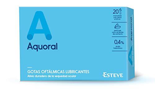 Aquoral Monodosis Gotas Oftálmicas - 20 unidades x 0.5 ml (Total: 10 ml)