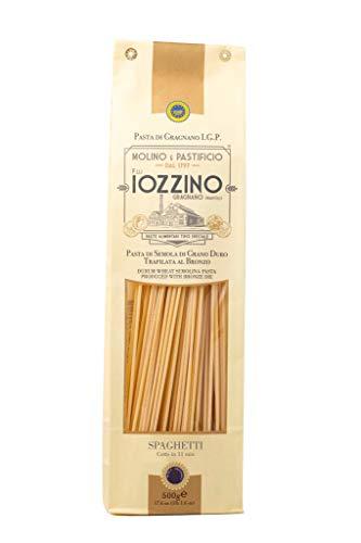 Pastificio F.lli Iozzino - Pasta di Gragnano IGP - Spaghetti di Gragnano 3Kg (6x500gr)