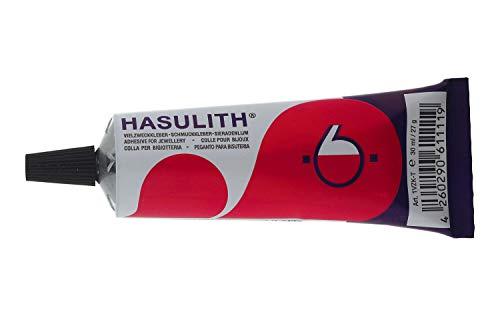 gogoritas Multiuso Adesivo di Hasulith Colla per Strass Colla per Gioielli Colla Artigianale per Strass, Vetro, Metallo, Pelle, Legno e plastica Dura, 1 Pezzi (31 Millilitro)