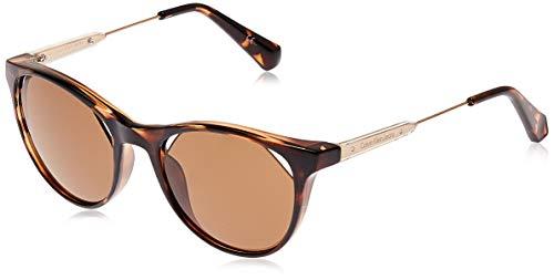 Calvin Klein Ckj510S 215 52 Montures de lunettes, Marron (Dark Tortoise), Femme