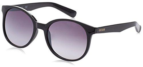 Guess GF6000_01B Gafas de sol, Negro (Nero), 45 para Mujer