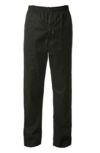 Mirabella Health & Beauty Pantalón de Cocinero Unisex Thyme Negro XL