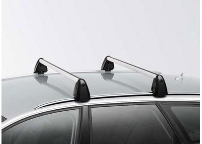 Genuine Audi Accessories 8P9071151666 Base Carrier Bar with Roof Rails for A3