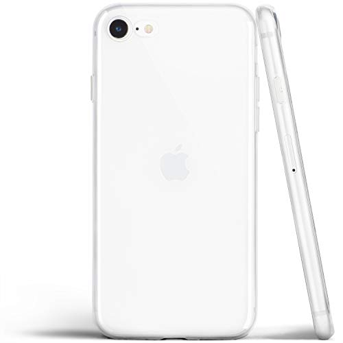 totallee Thin iPhone SE Case, Thinnest Cover Ultra Slim Minimal – for Apple iPhone SE (2020) (Transparent)