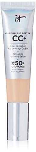 It Cosmetics Your Skin but Better CC Cream with SPF 50 Plus (Medium) - 1.08 Ounces