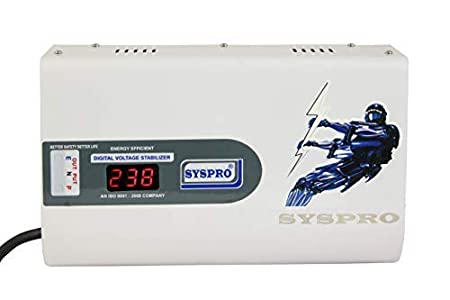 SYSPRO 5 KVA Digital Voltage Stabilizer For AC Upto 2 Ton