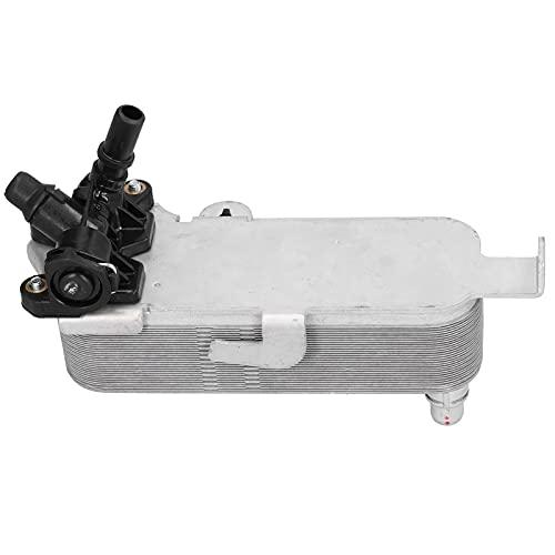 Radiador del enfriador de aceite del coche, intercambiador de calor del enfriador de aceite de la transmisión Convertidor de radiador automático-manual 17217600553 Reemplazo para F31 F30 320i 328i F32
