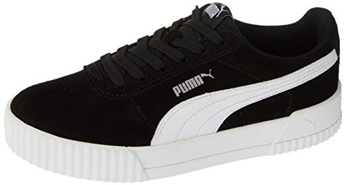 Tênis Puma, Carina Bdp, Feminino, Preto e prata, 37