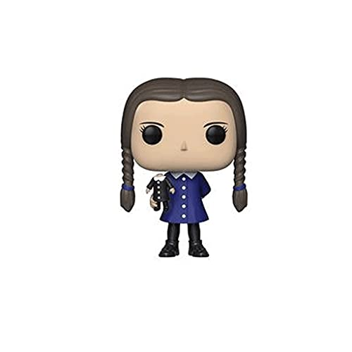 Funko Pop Television : Addams Family - Wednesday Addams 3.75inch Vinyl Gift for TV Fans...