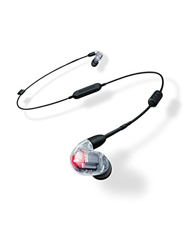 Shure SE846-CL+BT1 Wireless Sound Isolating Earphones with Bluetooth Enabled Communication Cable, Clear