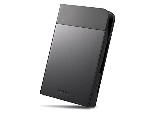 Buffalo MiniStation Extreme USB 3.0 2TB - Disco Duro Externo (2000 GB, USB Tipo A, 3.0 (3.1 Gen 1), 5000 Mbit/s, USB con Suministro de Corriente, Negro)