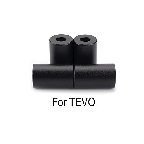 HUANRUOBAIHUO 1Set Aluminum Solid Spacer Hot Bed Leveling Column 4pcs Long Solid Spacers 3D Printer Parts For TEVO Tornado Tarantula Ultimate 3D Printer Parts