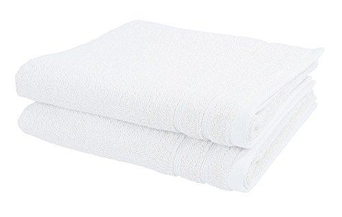 Vossen-Handtuch-Set (2 Stück) New Generation 50 x 100 cm, weiß, 100 % Baumwolle