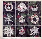 mccalls Crochet Crafts Christmas Ornaments and Tree Topper Pattern