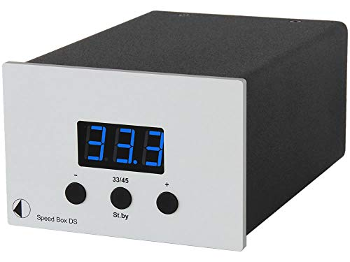 Pro-Ject Speed Box DS Front silbern