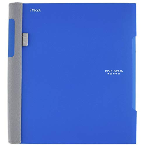 "Five Star Advance Spiral Notebook, 1 Subject, College Ruled Paper, 100 Sheets, 11"" x 8-1/2"", Blue (72886)"