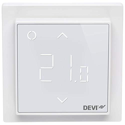 DEVI Raum+BodenThermostat RAL9016 140F1140