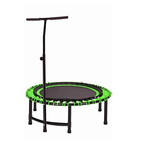 Trampoline Indoor Foldable Rebounder Trampolines Aerobic Motion Rebounder, Freed Pressure Improve Body Coordination Bouncer, with Removable Armrest Round Trampoline Load: 200kg Workout Cardio Exercise