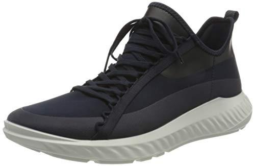 ECCO Herren ST1 Lite M Nightsky Sneaker, Blau (Night Sky/Night Sky), 43 EU