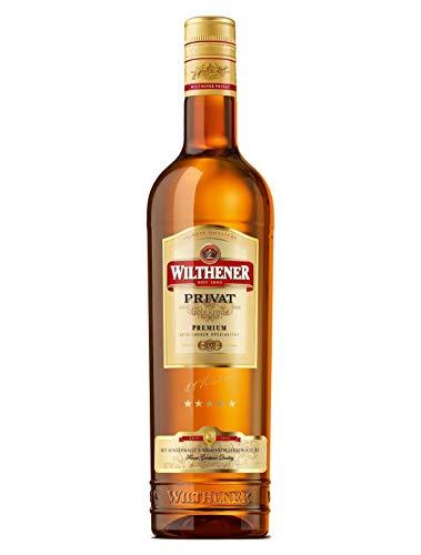 Wilthener Goldkrone Privat, Spirituose 33% vol. mit Nuancen von Honig, Backpflaume und Rosinen, Weindestillat in Limousinholzfässern gereift (1 x 0.7 l)