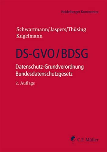 DS-GVO/BDSG: Datenschutz-Grundverordnung Bundesdatenschutzgesetz (Heidelberger Kommentar)