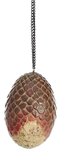 Kurt Adler Glass Ornament with S-Hook and Gift Box, Game of Thrones Collection (Dragon Egg [Drogon])