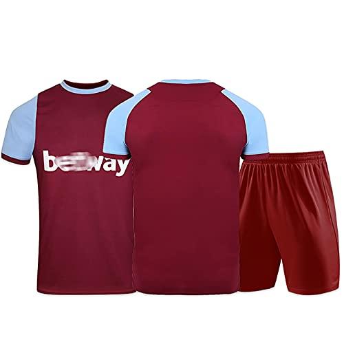 ZYWCXM Herren- und Kinderfußball-Trikots eignen Sich für Lingard 11# Jersey, Bowen 20# Football Uniform, Football Uniform Training Anzug Sportanzug Customization-M