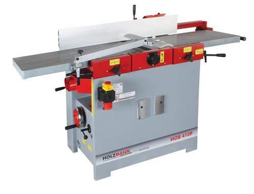 Holzmann Abricht-Dickenhobelmaschine HOB 410P   Abricht Dickenhobelmaschine   Dicken Hobelmaschine   HOB410   Profi NEU