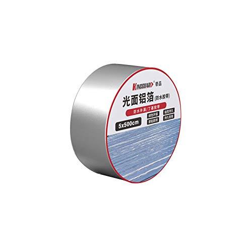 HELLOGIRL Cinta de butilo impermeable Sala de techo Material de la bobina autoadhesiva Cinta de sellado fuerte a prueba de fugas para mejoras del hogar 2 pulgadas x 16 pies
