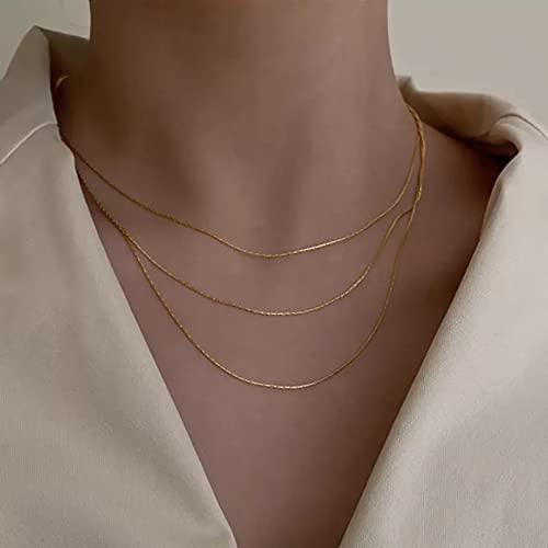 Las señoras Usan Colgantes de joyería Collar Mujeres Multi yer