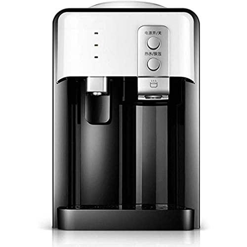 KDMB Dispensador de Agua de sobremesa Dispensador de Enfriador de Agua para encimera de Carga Superior, frío/Calor, Vertical, para el hogar pequeño, refrigeración en frío y Caliente, Mini