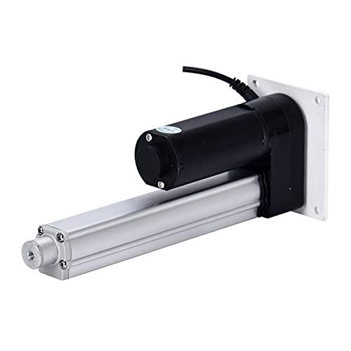 Auart Zyilei-Actuador Lineal 250kg 300mm Trazo, Carga 2500N, actuador telescópico eléctrico, actuador Lineal con Interruptor de límite de Altura Ajustable Motor Impermeable Sensible y Estable