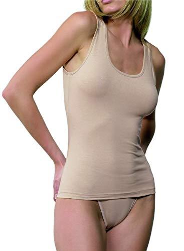 EVEN Camiseta Interior de señora 684 Tirante Ancho (Blanco, M)