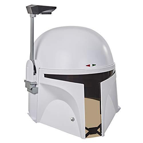 Star Wars The Black Series Boba Fett (Prototype Armour) Premium Casco elettronico, Star Wars: The Empire colpisce indietro Roleplay da collezione