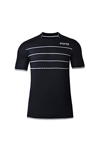 Amazon Marke: Eono Essentials schnell trocknendes Performance-Sport-Shirt für Herren (Größe S)