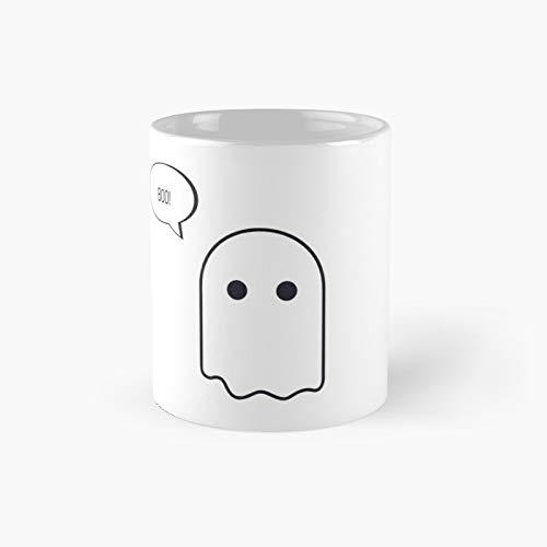 Halloween Cute Ghost Boo Classic Mug...