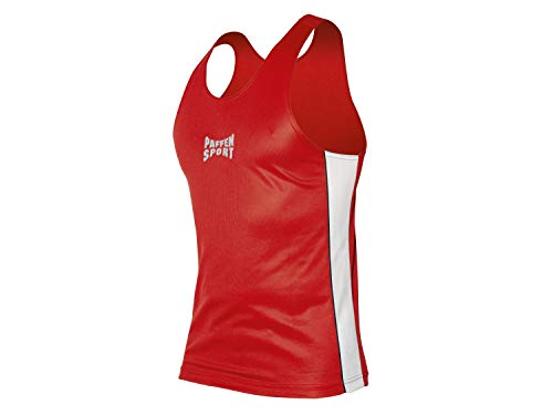 Paffen Sport Contest Boxerhemd; rot/weiß; GR: XL