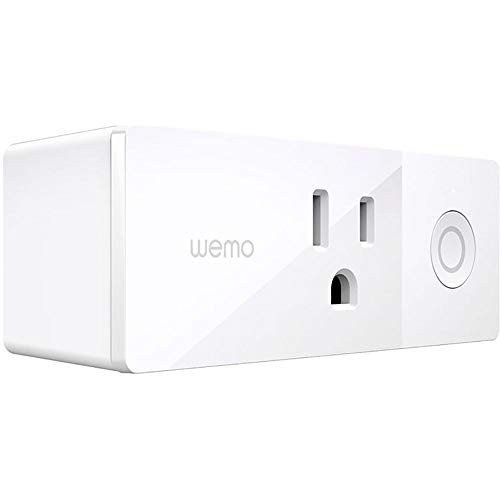 Wemo Smart WiFi Plug for Google Home and Alexa
