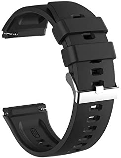 Replacement Silicone Sport Strap For Huawei Watch GT2E - Black