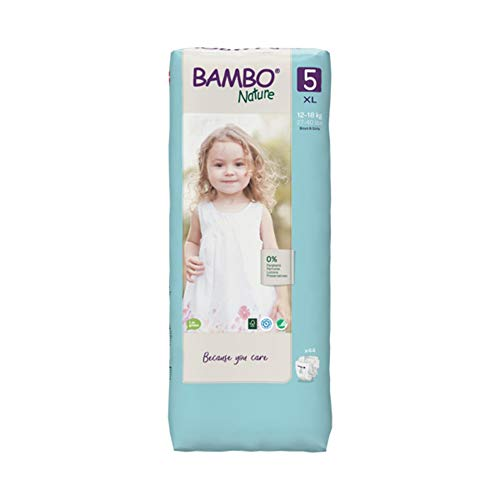 Bambo Nature Premium Eco Windeln, Junior, Größe 5, 1,59 kg