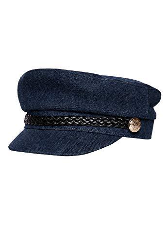 Ivy revel de denim cap casquette souple, bleu...