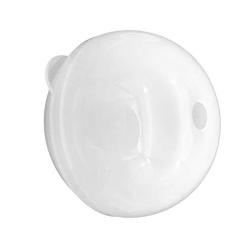 Sharplace Moule Silicone Boule de Pendentifs Résine Ajouter Perles/Paillettes/Fleurs Séchées/Embellissements pour Création de Bijoux - 80mm