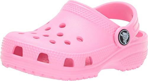 Crocs Kids' Classic Clog, Pink Lemonade, 9 M US Toddler