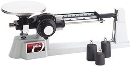 Ohaus 1650-W0 Dial-O-Gram Mechanical Balance, 2610 g Capacity, 0.1 g Sensitivity, 15.2 cm Diameter Platform, Stainless Steel