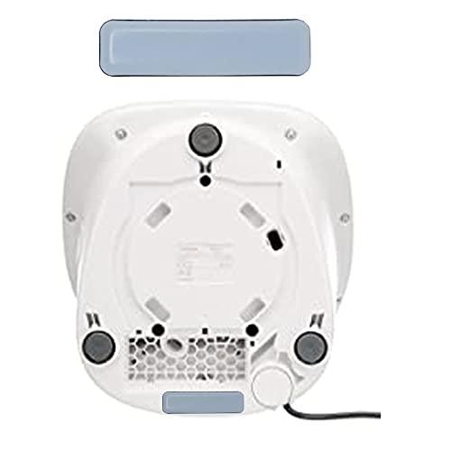 LiangMai Tabla deslizante invisible compatible con Thermomix TM5 TM6, ya no pesada, tamaño 16 x 75 mm, accesorio para robot de cocina y Monsieur Cuisine Connect.