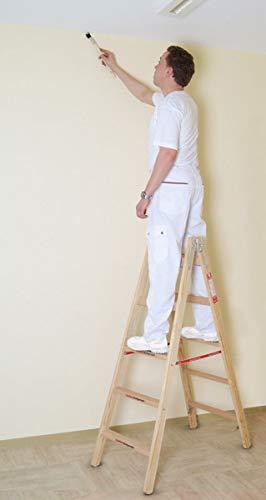 Comfort - Holz - Sprossenleiter 2x3