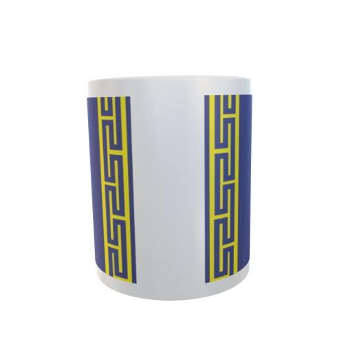 U24 Tasse Kaffeebecher Mug Cup Flagge Haute Marne Department