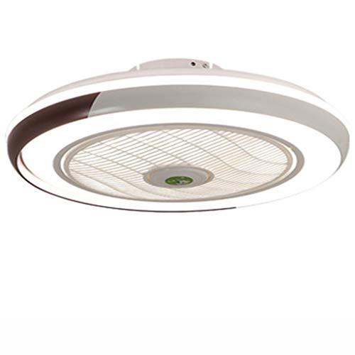 Fan ceiling light Invisibilità Soffitto Ventilatore Luce con Telecomando LED Ultra-silenzioso Lampadario Interna Soggiorno Moderno Creativo Soffitto Droplight Camera da Letto Per Bambini Lampada